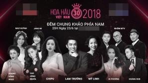 Thật như đùa: bị coi là 'thảm họa' mà hình ảnh Chi Pu lại xuất hiện ngang hàng trên poster Chung khảo Hoa hậu Việt Nam cùng các bậc tiền bối