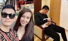 Vợ chồng Khắc Việt khóc khi thấy mặt con mới sinh